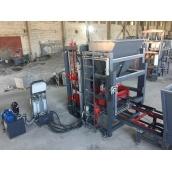 Вибропресс Васт-Сервис VPS-600 полуавтоматический 30 кВт для производства дорожного бордюра
