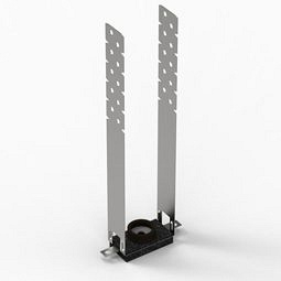 Універсальний віброподвіс VibrOK Plus сталь 0,9 мм 30х250 мм