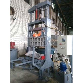 Вібропрес Васт-Сервіс ПС-150 10 кВт для виробництва будівельної цегли