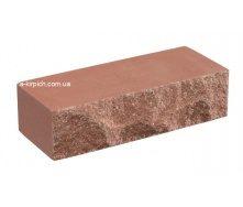 Облицовочный кирпич LAND BRICK скала красный полнотелый 250х100х65 мм
