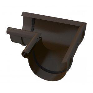 Кут жолоба River 125 мм коричневий