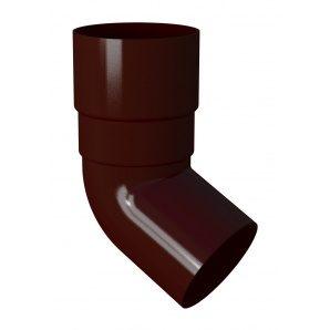 Коліно труби River 90 мм червоний
