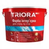Краска интерьерная для стен и потолков Triora 1 л белый
