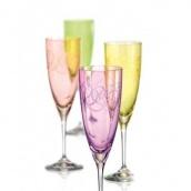 Набор бокалов для шампанского Bohemia FANTASY 220 мл 4 шт 40796/Q8794/220S
