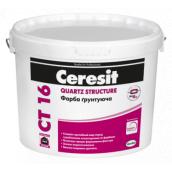 Краска грунтующая Ceresit CT 16 Quartz Structure 5 л