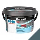 Эластичный водостойкий шов Ceresit СЕ 40 Aquastatic 2 кг стальной серый