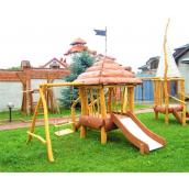 Деревянная детская площадка Курень от производителя