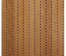 Акустическая перфорированная панель Decor Acoustic Вишня 2400х576х16 мм