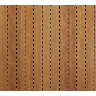 Акустична перфорована панель Decor Acoustic Вишня 2400х576х16 мм