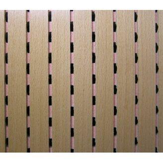 Акустическая перфорированная панель Decor Acoustic Махагони 2400х576х16 мм