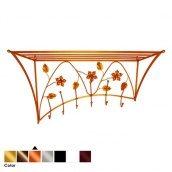 Вешалка настенная ЛУКО АСТРИД Copper левая 54x80x30 см (1299)