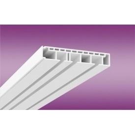 Пластиковый потолочный карниз ОМ3 2 м белый