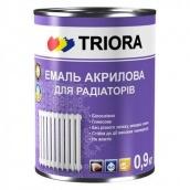 Эмаль акриловая для радиаторов Triora 0,9 л белый