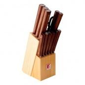 Набор ножей Bergner 13 пр (BG-8910-ММ)