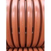 Гофрированная дренажная перфорированная труба ПП SN8 градус перфорации 360 315 мм 6 м