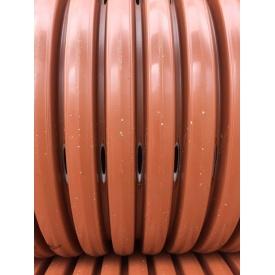 Гофрированная дренажная перфорированная труба ПП SN8 градус перфорации 360 315 мм
