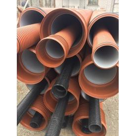 Труба канализационная гофрированная PipeLife PRAGMA 160 мм 6 м