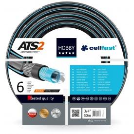 Шланг садовий Cellfast Hobby для поливу 3/4 дюйма 50 м (HB 3/4 50)