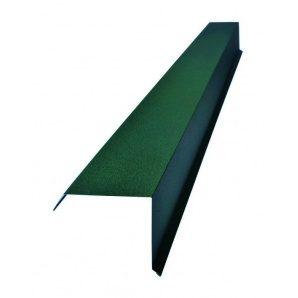 Торцевая планка Тайл тип 1 20х100х95х15 мм зеленая