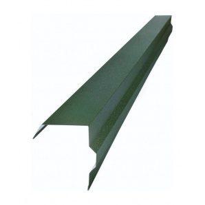 Торцевая планка Тайл фигурная 30х100х55х15х20х15х55 мм зеленая