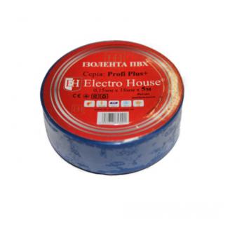 Ізолента ПВХ синя 18х0,15мм 11мElektro House