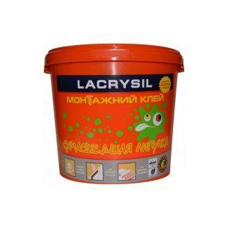 Клей універсальний монтажний Lacrysil Сумасшедшая липучка бел. 1,2 кг