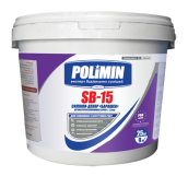 Декоративная штукатурка Polimin Барашек SB-15 силиконовая зерно 1,5 мм 25 кг