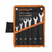 Набор ключей рожково-накидных Dnipro-M 6 штук