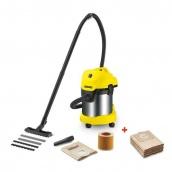 Промышленный пылесос Karcher WD 3 Premium + мешки (9.610-664.0)