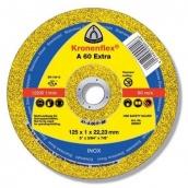 Отрезной круг по металлу Klingspor 125х1,6х22,2 Kronenflex A46 Extra