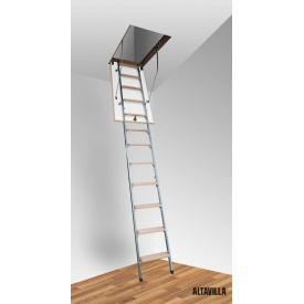 Горищні сходи Altavilla Termo Metal Plus 3s 120х80 см