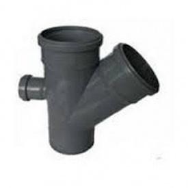 Крестовина канализационная 110/110/50 мм 45х90 градусов