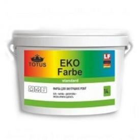 Краска интерьерная дисперсионная Totus Eko Farbe 10 л