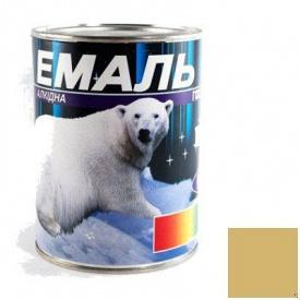 Краска Эмаль ПФ-115 бежевая 0,9 кг