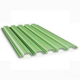 Профнастил ПС-10 1200 х2000 мм зеленый
