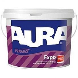 Краска фасадная универсальная Eskaro Aura Fasad Expo 1 л