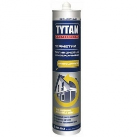 Герметик силиконовый универсальный Tytan прозрачный 310 мл