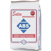 Гіпсова фінішна шпаклівка ABS Saten 25 кг