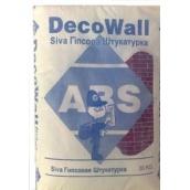 Гипсовая штукатурка ABS Siva DecoWall 30 кг белая