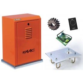 Автоматика для откатных ворот FAAC 884 MC KIT 16 м