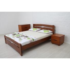 Ліжко дерев'яна Нова з ізножьем ТМ Олімп