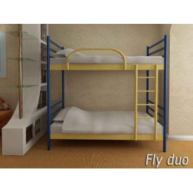 Кровать металлическая двухъярусная FLY DUO 90х190 см