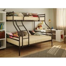 Ліжко двоярусне металеве SMART