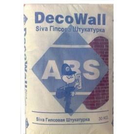 Гіпсова штукатурка ABS Siva DecoWall 30 кг біла
