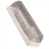 Світильник настінно-стельовий Horoz Electric Lolly ІР20 224,7x73,8 мм білий (400-000-110)