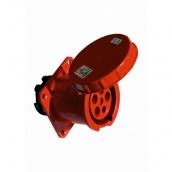 Розетка ElectrO РС -334 3 полюса + PE 63А 400В IP54 (PC334)