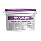 Краска фасадная силиконовая Scanmix Silicone Facade Deluxe 10 л