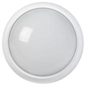 Светильник светодиодный IEK ДПО 4500K IP54 3010 пластик круг 8 Вт белый