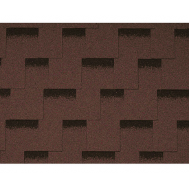 Бітумна черепиця Icopal Claro Shadow 1000х317 мм коричневий