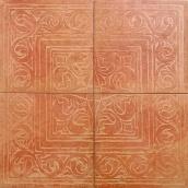 Декор ZEUS CERAMICA COTTO CLASSICO 65x65 см ROSONE ROSA RAX27 (4 шт)